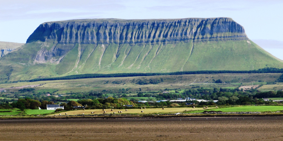 Benbulben from Streedagh Beacj