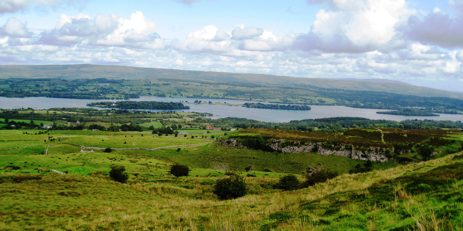 Lough Arrow from Carrowkeel