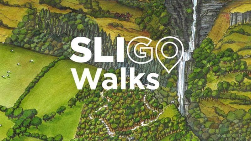 Annie West Illustrates Sligo Walks