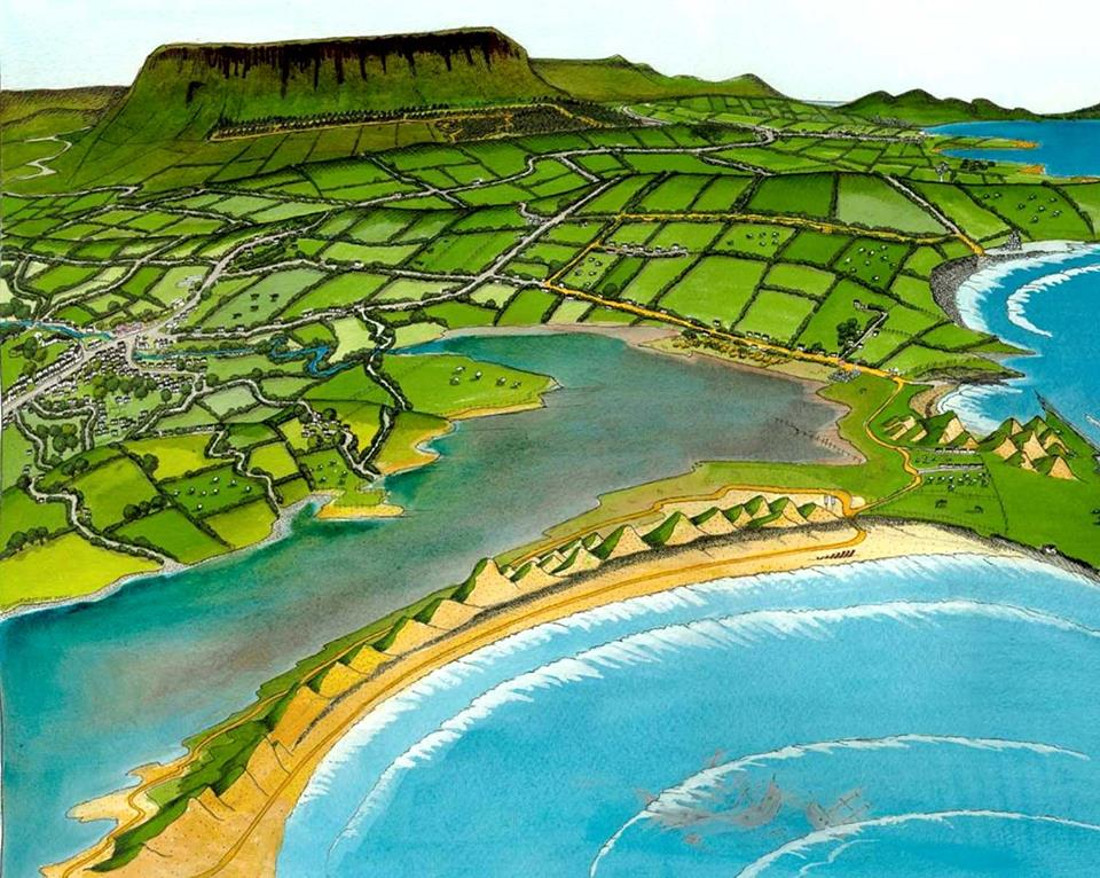 Ben Bulben Forest Walk and Streedagh Beach