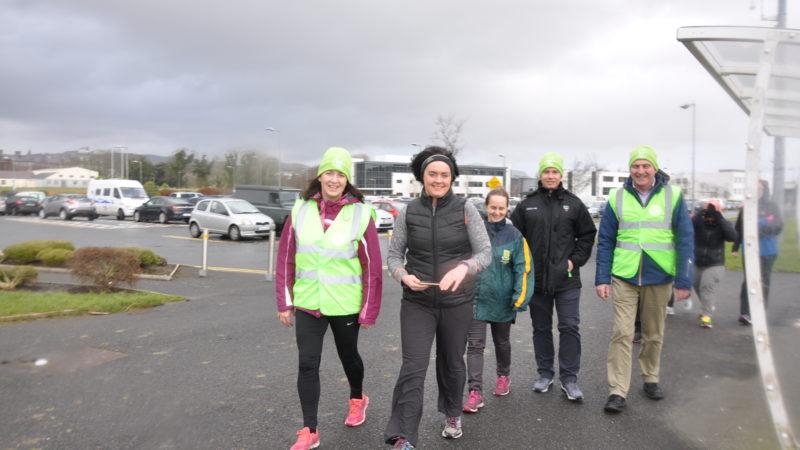 Take on the 10,000 step Marchathon at IT Sligo