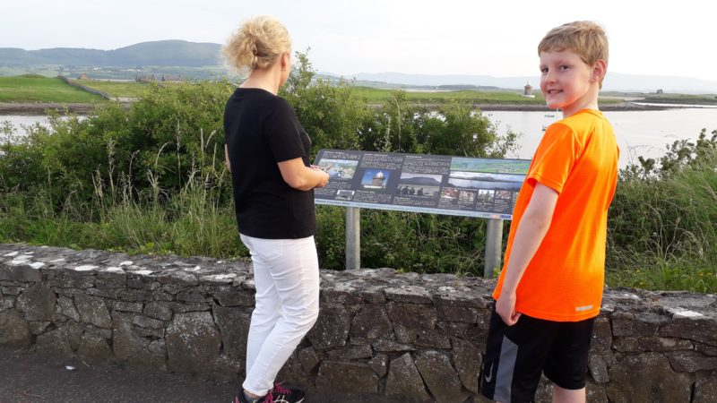 The new Rosses Point Coastal Way in Sligo